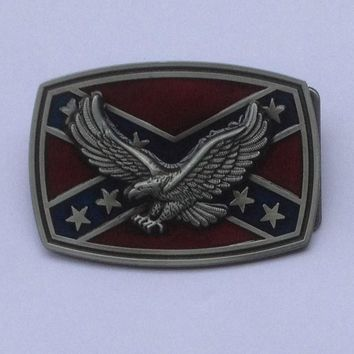 Western Flying Eagle belt buckle