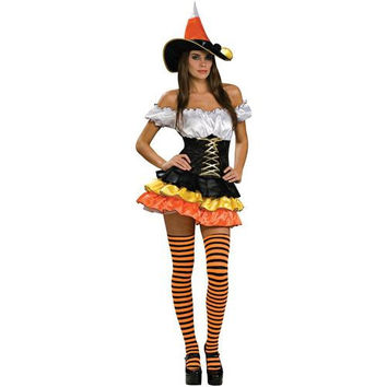 Women's Costume: Candy Corn Cutie | Small/Medium