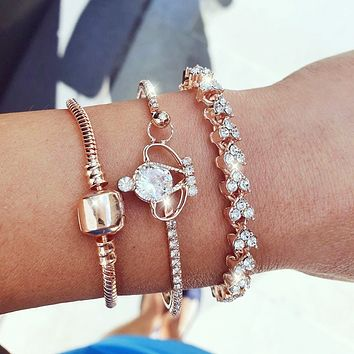Crown Sparkle Stack