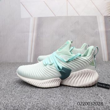HCXX A882 Adidas 2019 Sports Bounce Yeezy Casual Running Shoes Green