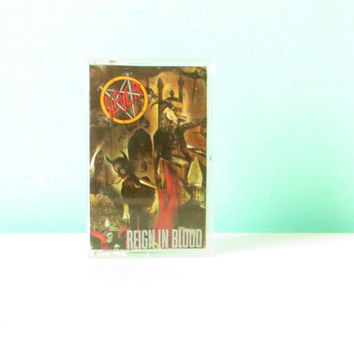 Slayer Reign in Blood Cassette Tape