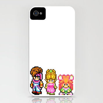Secret of Mana Characters iPhone Case by Nerd Stuff | Society6