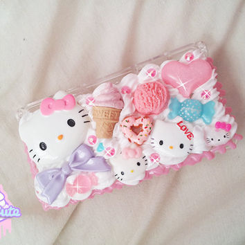 CUSTOM MADE - Nintendo 3DS/3DS XL kawaii decoden case