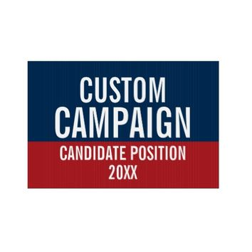 Create Your Own Campaign Gear Sign