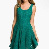 Fire Lace Tank Dress (Juniors) | Nordstrom