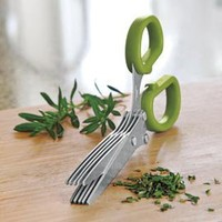 Herb Shears, Herb Scissors, 5 Blade Scissors | Solutions