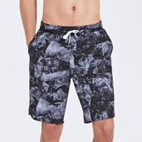 Top Quality Mens Swim Trunks Quick Dry Board Shorts Summer Beach Short Cocutree Printed Plus Size Blue Free Shipping