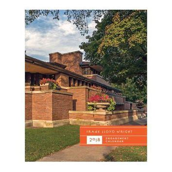 Frank Lloyd Wright Engagement Calendar, Architecture | Design by Chronicle Books