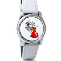 Seagull Quote Eric Cantona Inspired Wrist Watch
