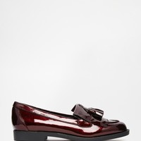 New Look | New Look Patent Tassel Loafer at ASOS