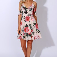 Go with the Floral Dress Blush