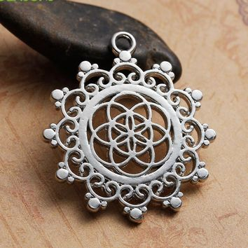 Seed Of Life Necklace Pendant