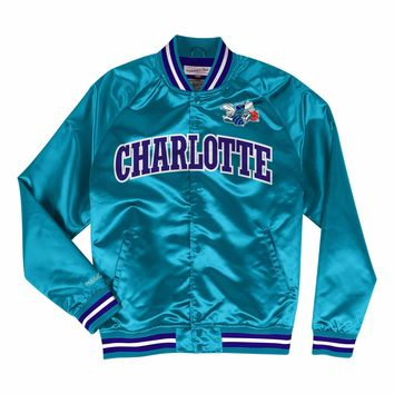 Mitchell & Ness Charlotte Hornets Lightweight Satin Jacket