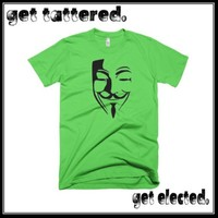 ANONYMOUS. vendetta guy fawkes mask v2