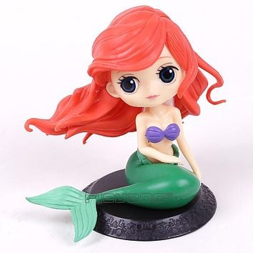 Ariel The Little Mermaid Q Posket Characters PVC Figure Collectible Model Toy Doll 11cm