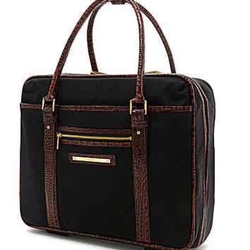 Brahmin Travel Collection Wheeled Briefcase - Black