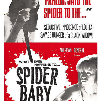 Spider Baby or The Maddest Story Ever Told 11x17 Movie Poster (1968)