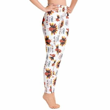 Thanksgivings Legging - Turkey Leggings