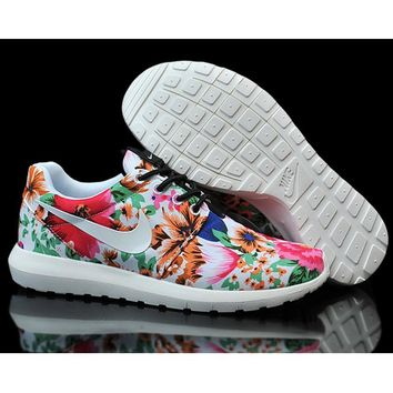 """Nike"" Women Flower Print Casual Sport Running Sneakers Sport Shoes G-MDTY-SHINING"