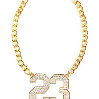 CRYSTAL 23 NECKLACE