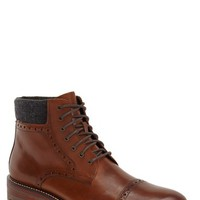 Men's J&M 1850 'Karnes' Brogue Cap Toe Boot