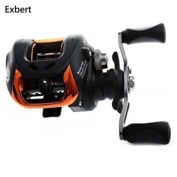 10+1BB Left Right Hand Baitcasting Fishing Reel 6.3:1 Bait Casting Fishing Wheel With Magnetic Brake Carp Carretilha Pesca AF103