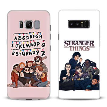 Stranger Things Season 2 Phone Case For Samsung Galaxy S4 S5 S6 S7 Edge S8 S9 Plus Note 8 3 4 5 A5 A7 J5 2016 J7 2017 Cover