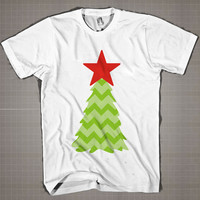 Christmas Trees  Mens and Women T-Shirt Available Color Black And White
