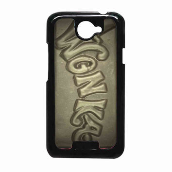 Milk Chocolate Golden Wonka Bar 83cb2689-5633-45de-a84b-400ce921fa4c FOR HTC One X CASE *RA*