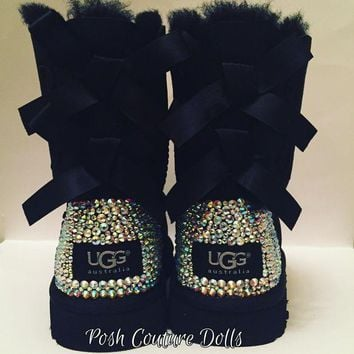 CREY1O Custom Bling UGG boots Adults