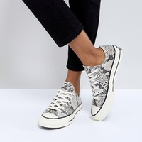 Converse Chuck Taylor All Star '70 Sneakers In Snake Print at asos.com