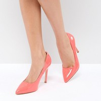 Truffle Collection Neon Point High Heels at asos.com
