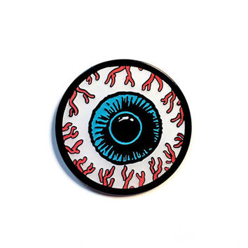 Eyeball Lapel Pin