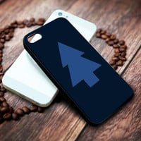 dipper pines hat tree gravity falls Iphone 4 4s 5 5s 5c 6 6plus 7 case / cases