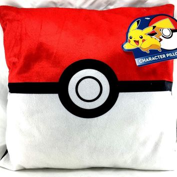 Pokemon Poke Ball Plush Stuffed Toy Soft Pillow- Assorted-1 Pc …