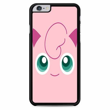 Jigglypuff Face Pokemon iPhone 6 Plus / 6S Plus Case