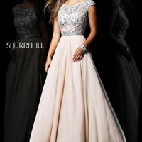 Sherri Hill 21053 at Prom Dress Shop