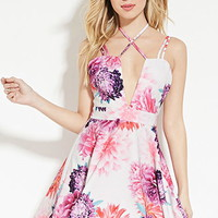 Tiger Mist Floral Fit & Flare Dress