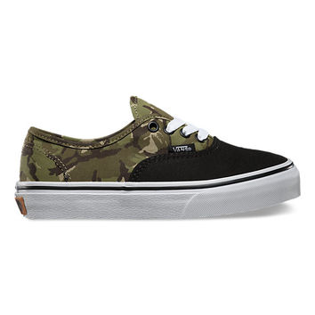 Kids 2 Tone Camo Authentic | Shop Kids Shoes at Vans
