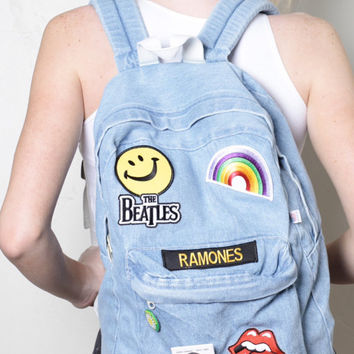 Holographic Backpack Hologram Rainbow from CutiesClub on Etsy 51c5e63716