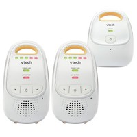 VTech DM111-2 Safe & Sound Digital Audio Baby Monitor with Two Parent Units