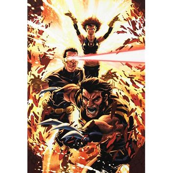 Ultimatum: X-Men Requiem #1 - Limited Edition Giclee on Stretched Canvas by Mark Brooks and Marvel Comics
