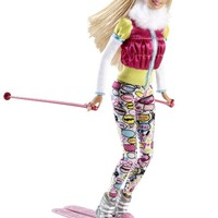 Barbie I Can Be Skier Doll Playset