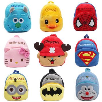 Backpack Plush bag gifts Boy Girl student
