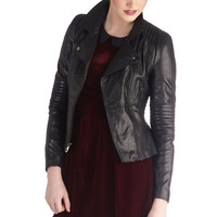 The Wheel Thing Leather Jacket