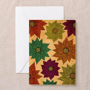 Color Me Floral Greeting Card | Thank You Card | Birthday Card | Notecard