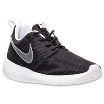 Boys' Grade School Nike Roshe Run Casual Shoes