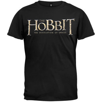 The Hobbit - Desolation of Smaug Logo T-Shirt