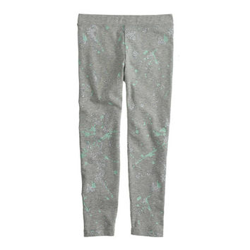 crewcuts Girls Everyday Leggings In Splatter Print
