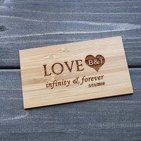 Wallet Card , Wood Card , Personalized Wallet Insert Card , Custom Wallet Card , Gift for Mother's Day , Anniversary Gift for Men